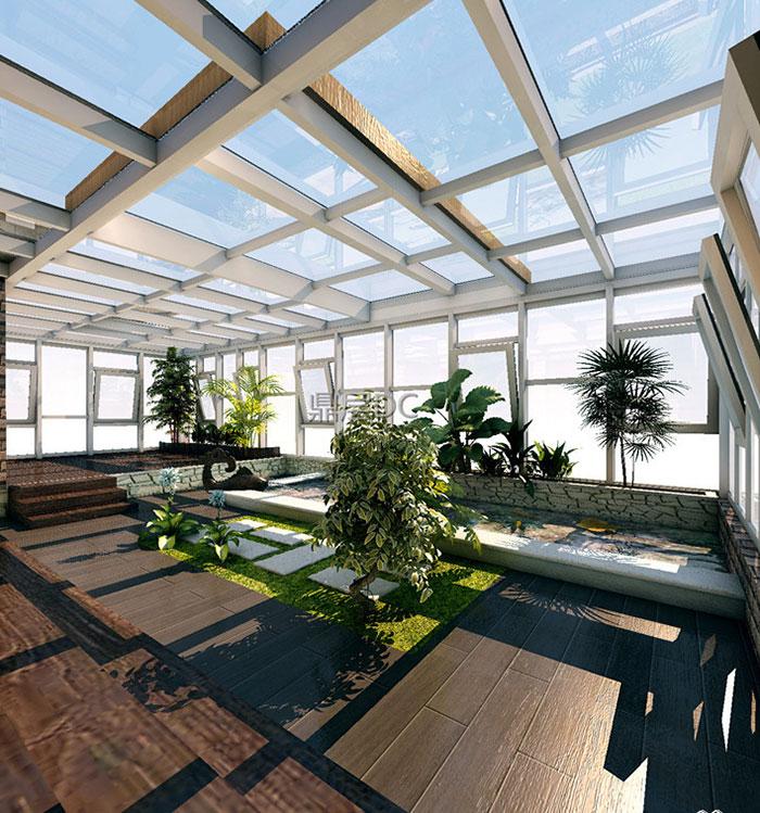 阳光房主要有彩钢板阳光房,阳光板阳光房,钢化玻璃阳光房这三种类型.