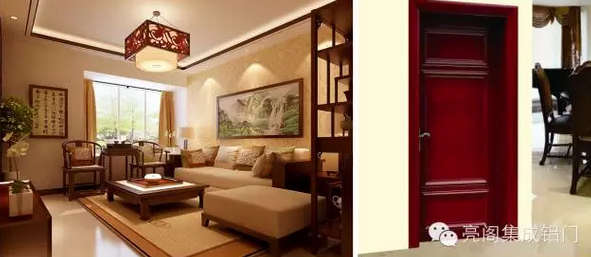 新中式门窗古典文化内敛其中