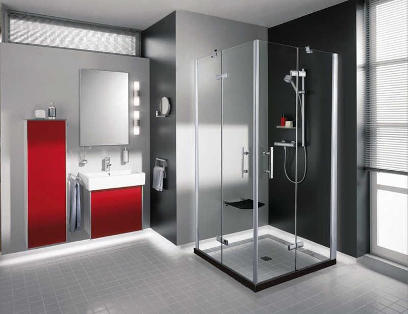 不锈钢淋浴隔断